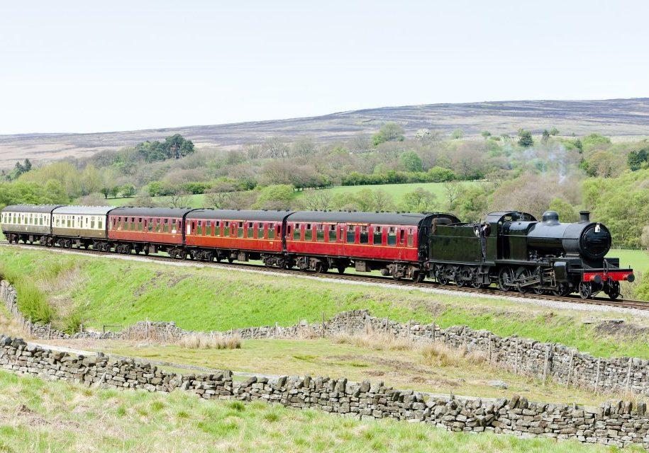 pickering steam train 1920